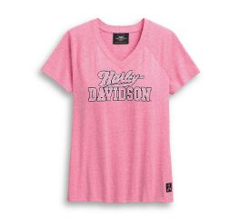 Harley-Davidson® Pink Label V-Neck Tee 99054-20VW