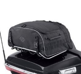 Harley-Davidson® Onyx Premium Luggage Collapsible Tour-Pak Rack Bag 93300124