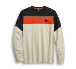 Harley-Davidson® Performance Mesh Accent Long Sleeve Tee 96040-20VM
