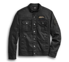 Harley-Davidson® Flaming Skull Patch Denim Shirt Jacket 97400-20VM