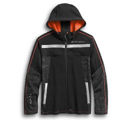 Harley-Davidson® Performance Mesh Accent Soft Shell Jacket 97404-20VM