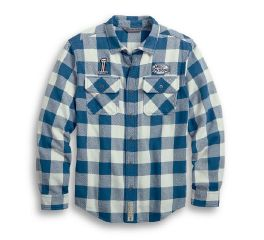 Harley-Davidson® Buffalo Plaid Camp Shirt 96007-20VM