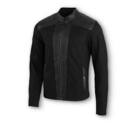 Harley-Davidson® Compression Knit & Leather Jacket 97401-20VM