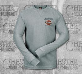 Harley-Davidson® Men's Grey Genuine 1903 Long Sleeve Tee, RK Stratman Inc. R003176