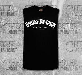 Harley-Davidson® Men's Black H-D® Tank, RK Stratman Inc. R003161