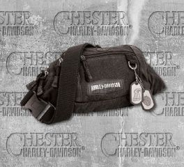 Harley-Davidson® Men's C4 Crossbody Waistpack Hip Bum Bag, Leather Accessory Source CC8182S