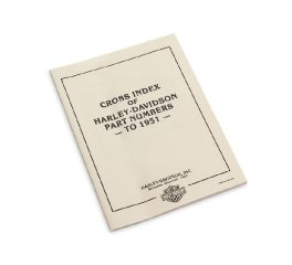 Harley-Davidson® Cross Index of H-D Part Numbers to 1951 99445-93
