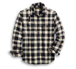 Harley-Davidson® Logo Buffalo Check Shirt 96010-20VM