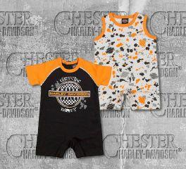 Harley-Davidson® Infant Baby Boy's Romper Set, OkisOnent GmbH 3062801