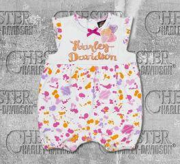 Harley-Davidson® Infant Girl's Splatter Ink Romper, OkisOnent GmbH 3012815