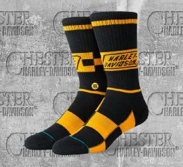 Harley-Davidson® Race Badge Socks, Stance U556C19HAR