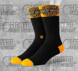 Harley-Davidson® Accelerate Boot Cut Socks, Stance U756C19HRB