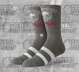 Harley-Davidson® Roses Are Red Socks, Stance U556D19HRA