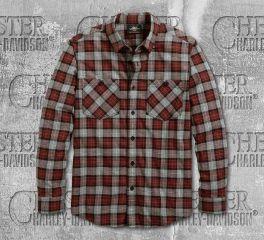 Harley-Davidson® Men's Shoulder Graphic Long Sleeve Shirt 96113-20VM