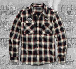 Harley-Davidson® Men's HDMC Slim Fit Long Sleeve Shirt 96106-20VM