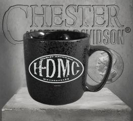 Harley-Davidson® Myst HDMC Textured Ceramic Coffee Cup 3MLM4925