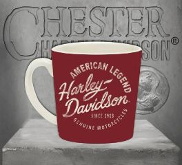 Harley-Davidson® Heritage Americano Ceramic Coffee Cup 3MH4908
