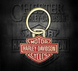 Harley-Davidson® 2D Die Struck Bar & Shield® Key Chain, Global Products, Inc. KY34626