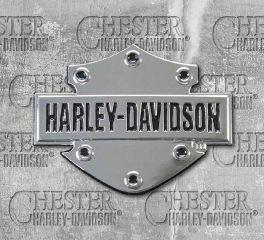 Harley-Davidson® Chrome 3D Bar & Shield® Decal, Global Products, Inc. DC200061