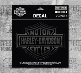 Harley-Davidson® Matte & Gloss B&S® Decal DC302303