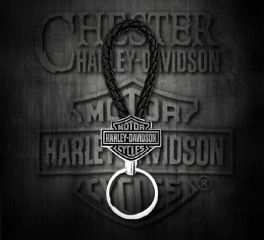Harley-Davidson® 2D Die Cast Bar & Shield® Keychain, Global Products, Inc. KY30223