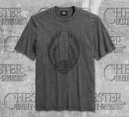 Harley-Davidson® Men's Winged Logo Short Sleeve Tee 96140-20VM