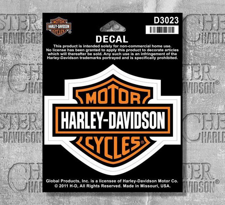 Harley Davidson Bar And Shield >> Harley Davidson Bar Shield Decal