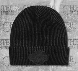 Harley-Davidson® Cuffed Contrast Knitted Hat 97618-20VM