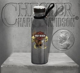 Harley-Davidson® Eagle Stainless Steel Water Bottle 3SWB4906