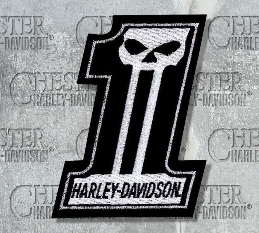 HARLEY DAVIDSON NO:1  PATCH