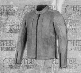 Harley-Davidson® Men's Burghal Slim Fit Leather Jacket 98061-19EM