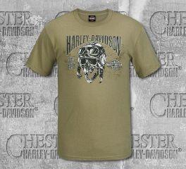 Harley-Davidson® Men's Prairie Road Scholar Short Sleeve Tee, RK Stratman Inc. R003460