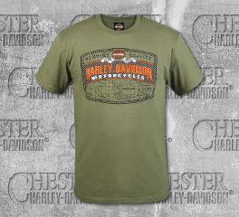 Harley-Davidson® Men's Prairie GQHD Short Sleeve Tee, RK Stratman Inc. R003336