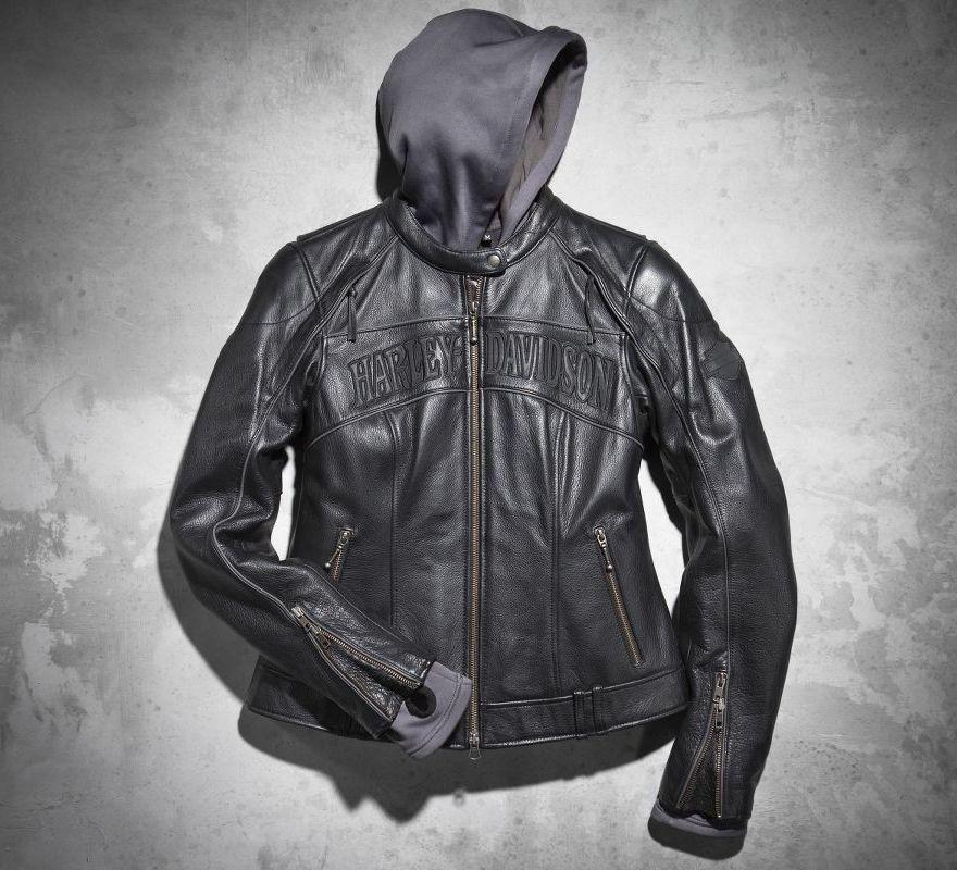 de839ea3b3d1 Harley-Davidson® Women s Skull 3-in-1 Leather Jacket 98152-09VW ...