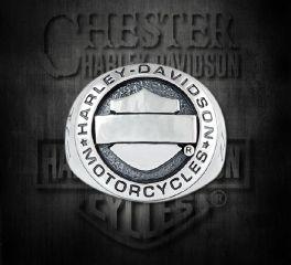Sterling Silver Bar & Shield® Ring