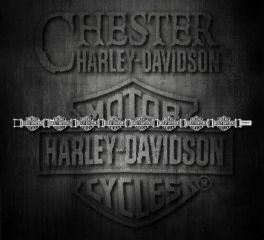 Harley-Davidson® Bar & Shield® Logo Stainless Steel Bracelet, MOD Jewelry Group Inc. HSB0012