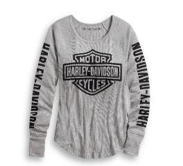 Harley-Davidson® Logo Rib-Knit Top 99043-20VW
