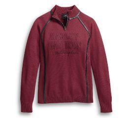 Harley-Davidson® 1/4 Zip Ski Sweater 96177-20VW