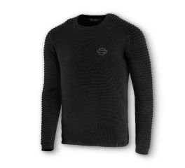 Harley-Davidson® Sleeve Detail Wool-Blend Sweater 96129-20VM