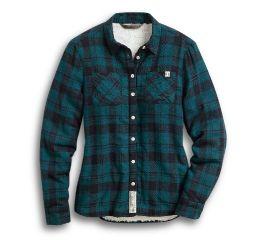 Harley-Davidson® Sherpa Lined Layering Shirt 96165-20VW