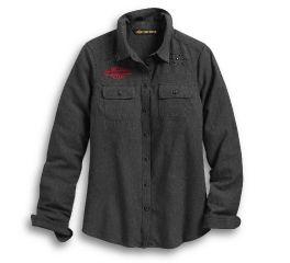 Harley-Davidson® Stud & Chain Stitch Shirt 96166-20VW