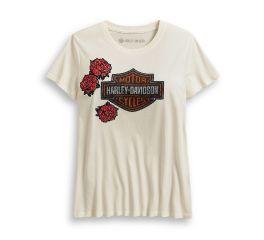 Harley-Davidson® Roses & Logo Tee 96182-20VW