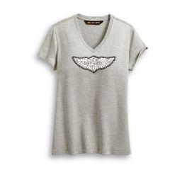Harley-Davidson® Distressed Wing Logo Tee 96185-20VW