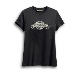 Harley-Davidson® Distressed Banner Logo Tee 96186-20VW
