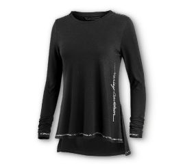 Harley-Davidson® Metallic Accents Long Sleeve Tee 96235-20VW