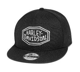 Harley-Davidson® Embroidered Patch Adjustable Cap 97607-20VM
