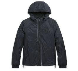 Harley-Davidson® Packable Hooded Nylon Slim Fit Jacket 98627-20VW