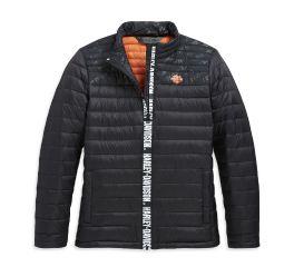 Harley-Davidson® Mixed Media Down Slim Fit Jacket 98628-20VW