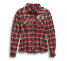 Harley-Davidson® Since 1903 Plaid Flannel Shirt 96454-20VW