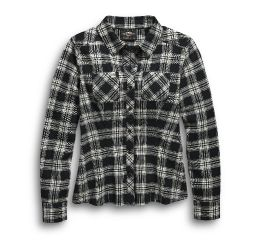 Harley-Davidson® No1 Plaid Flannel Shirt 96456-20VW